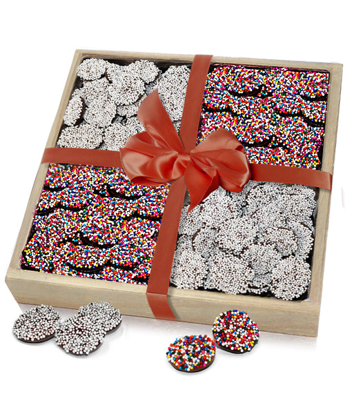 Celebration Belgian Chocolate Nonpareils Gift Tray