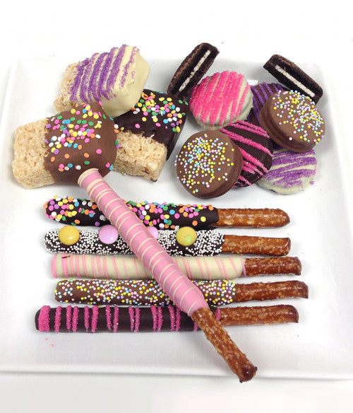 Spring Fun Chocolate Covered Sampler - 15 pc - Golden Edibles