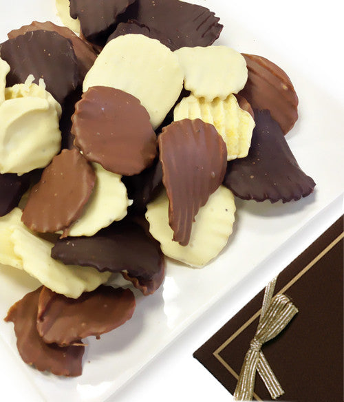 Belgian Chocolate Dipped Potato Chips - Chocolate Covered Company®