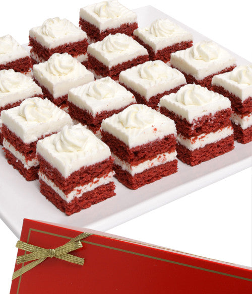 Red Velvet Cake Bites - 15pc - Chocolate Covered Company®