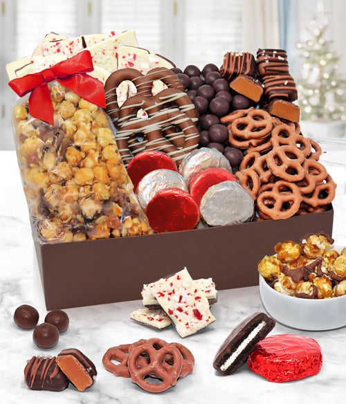 Holiday Premium Belgian Chocolate Covered Gift Box - Chocolate Covered Company®