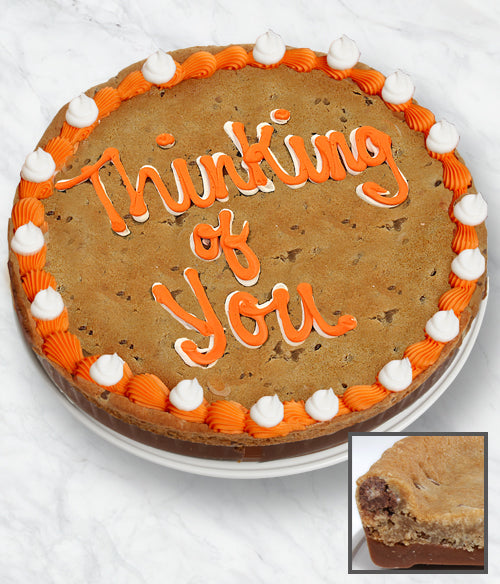 THINKING OF YOU Cookie Bark Cake - Belgian Chocolate - Chocolate Covered Company®
