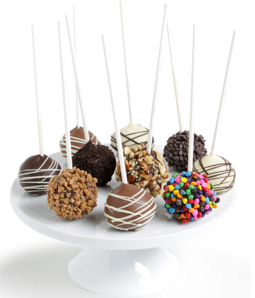 Ultimate Chocolate Dipped Cake Pops - Golden Edibles