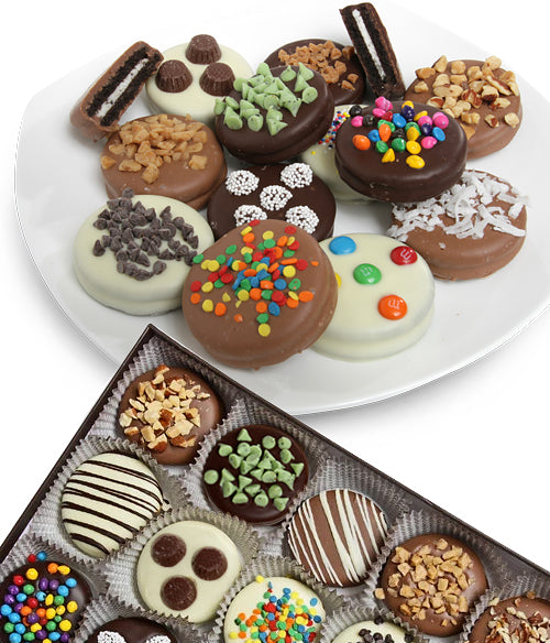 Ultimate Design Belgian Chocolate-Dipped OREO® Cookies Gift