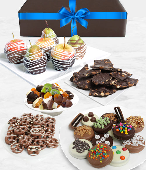 WINTER - Grand Belgian Chocolate Covered Fruit Gift Box