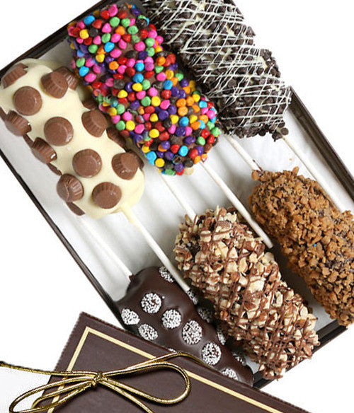 Ultimate Belgian Chocolate Covered Marshmallow Sticks - Chocolate Covered Company®