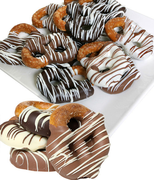 Classic Belgian Chocolate Pretzel Twists - Chocolate Covered Company®