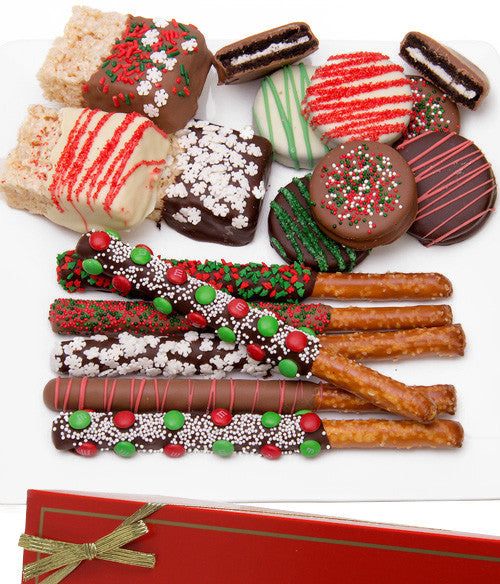 Holiday Fun Chocolate Covered Sampler Assortment  - 15pc - Chocolate Covered Company®