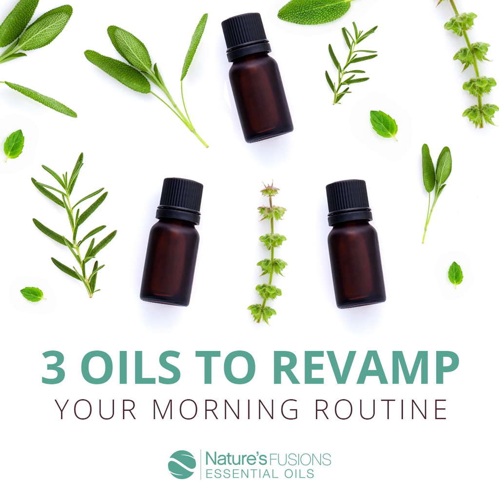 Three Oils to Revamp Your Morning Routine