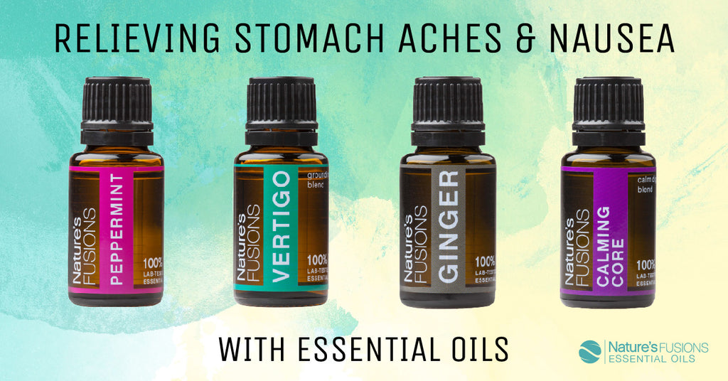 Relieving Stomach Aches & Nausea with Essential Oils