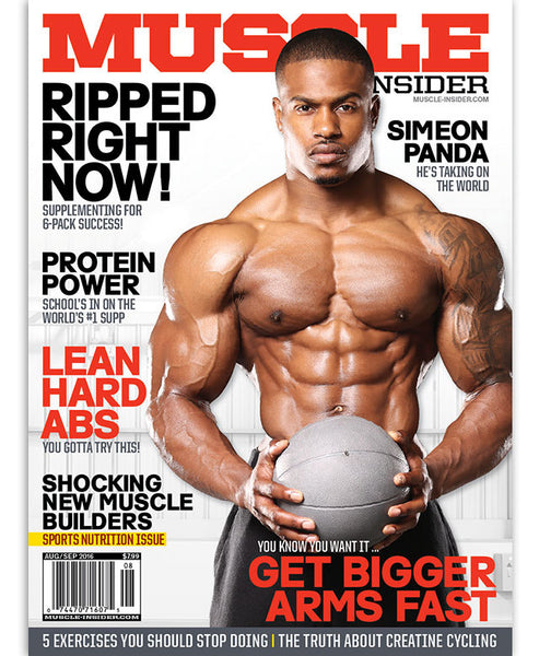Muscle Insider Front Cover
