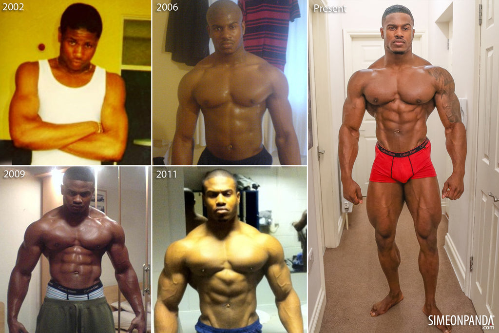 My Transformation and FAQ's – simeonpanda.com
