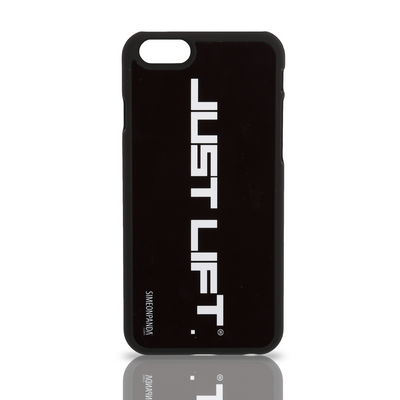 Just Lift. iPhone 6 Rubberised Case – Black
