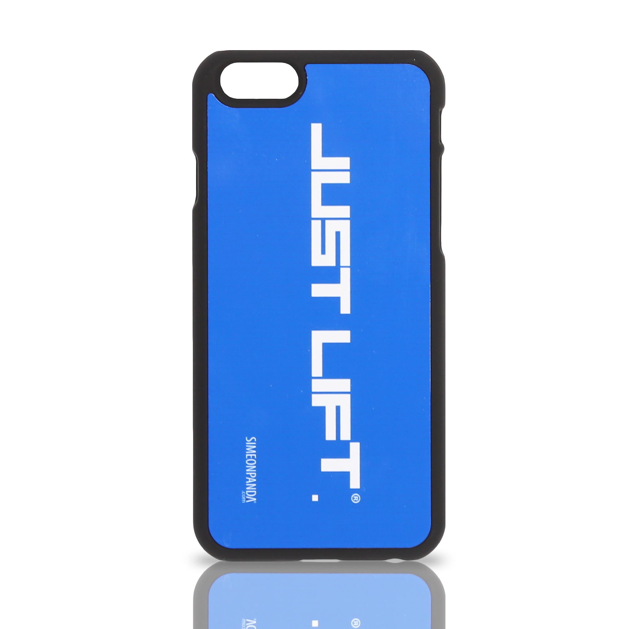 Just Lift. iPhone 6 Rubberised Case – Blue