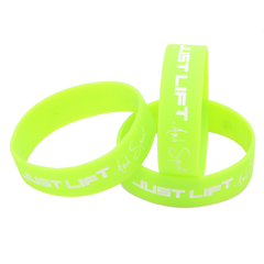 Just Lift. And Squat Wristband (Rainbow Pack)