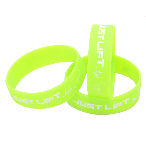 Just Lift. And Squat Wristband (Green)