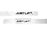 Just Lift. BLACK ICE Padded Lifting Straps
