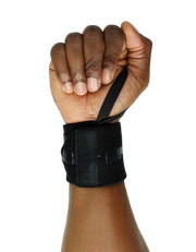 Just Lift. BLK Wrist Wraps