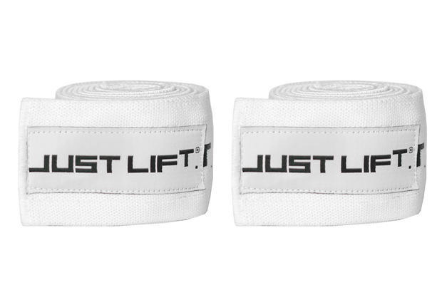 Just Lift. BLACK ICE Knee/Elbow Wraps