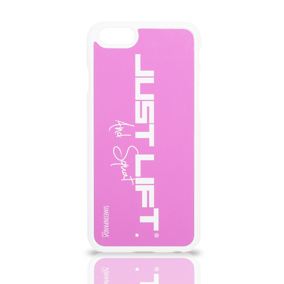 Just Lift. And Squat iPhone 6 Rubberised Case – Pink