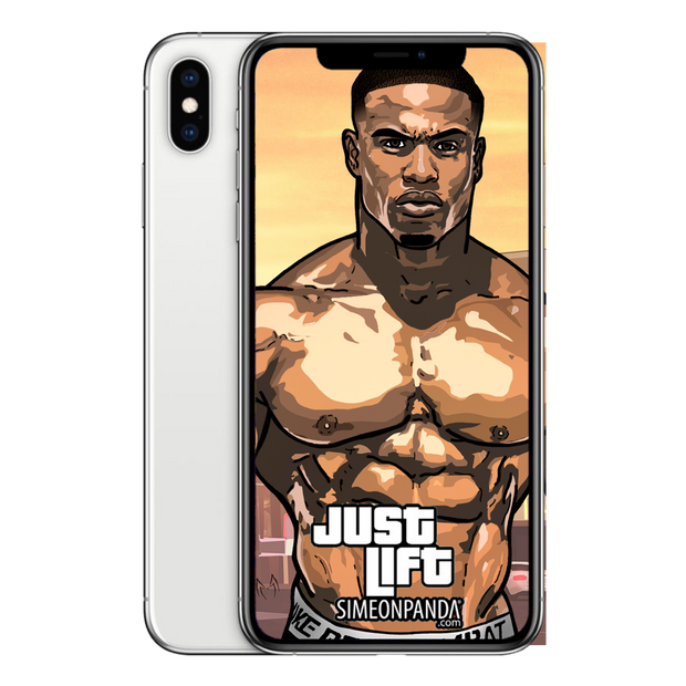 Just Lift. Simeon Panda Wallpaper - Pako Pablos Studios (3)