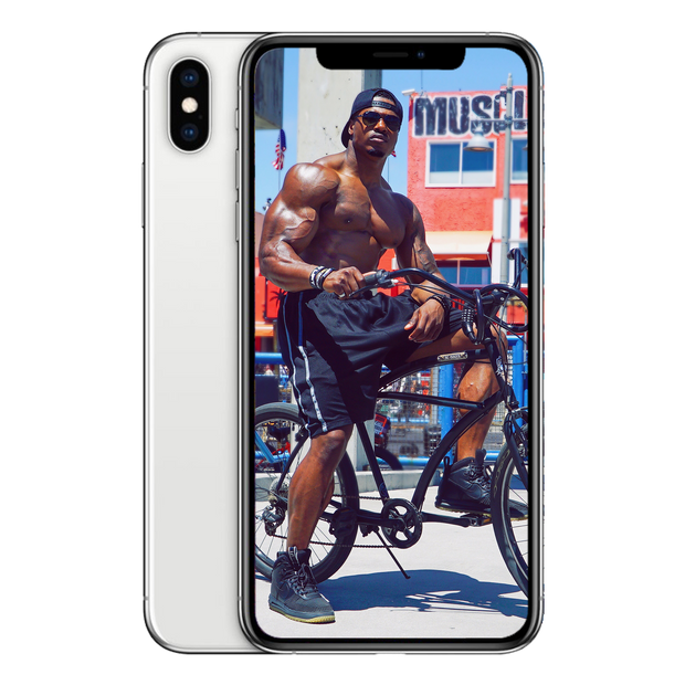 Simeon Panda - Muscle Beach Wallpaper