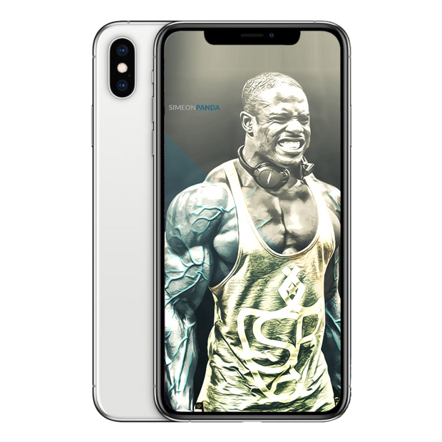 Simeon Panda Aesthedit Two Tone Wallpaper