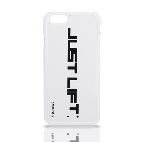 Just Lift. iPhone 6 Rubberised Case – White