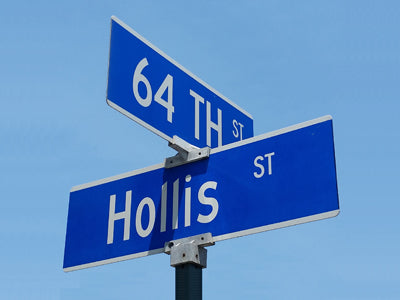 64th Street and Hollis, the location of our roasting plant in Emeryville, CA