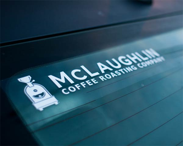 MCLAUGHLIN LOGO WINDOW DECAL