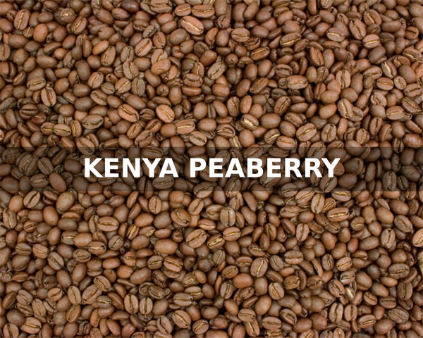 KENYA PEABERRY - McLaughlin Coffee Roasting Company