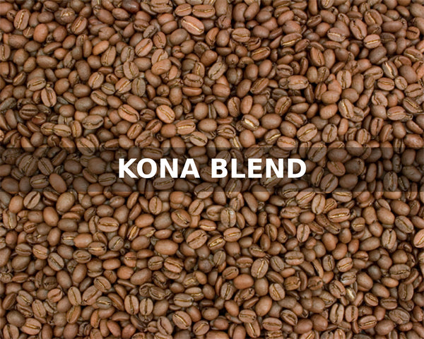 KONA BLEND - McLaughlin Coffee Roasting Company