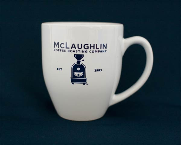 MCLAUGHLIN LOGO 16OZ MUG