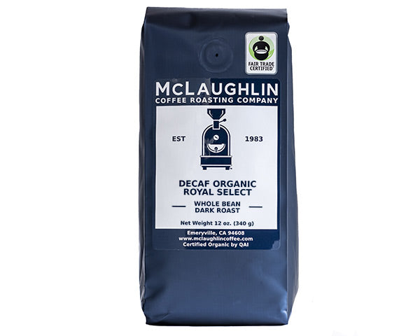 DECAF ORGANIC FAIR TRADE ROYAL SELECT