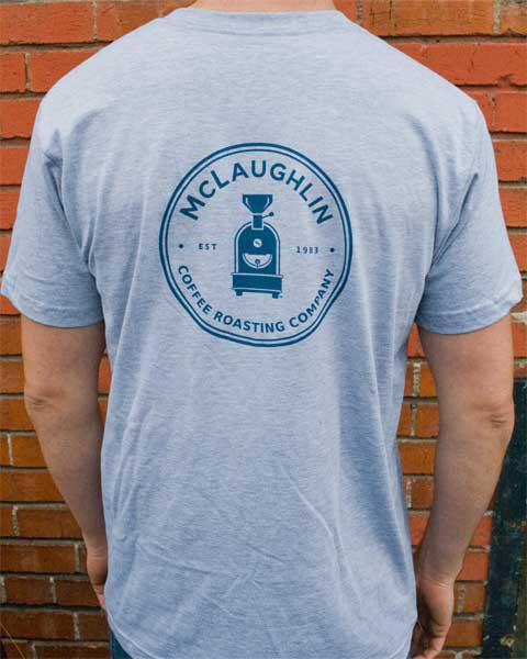 McLaughlin Logo T-Shirt - McLaughlin Coffee Roasting Company