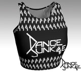 "DJ ""Imprint"" Athletic Crop Top"