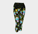 Sugar Skull Yoga Capri Legging