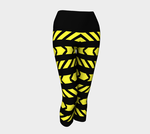 Caution! Yoga Capri Legging