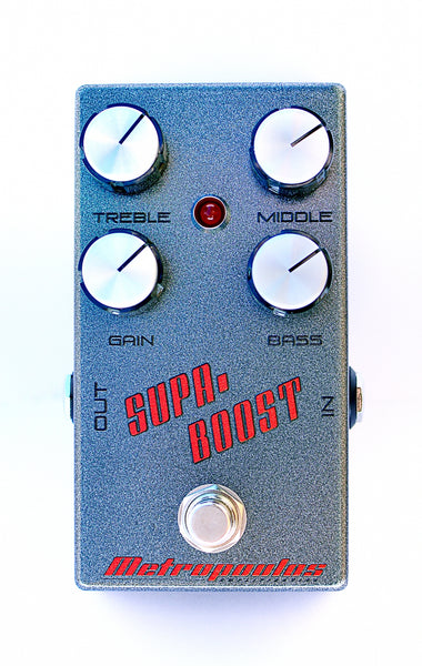 Supa-Boost - High Voltage Boost Pedal
