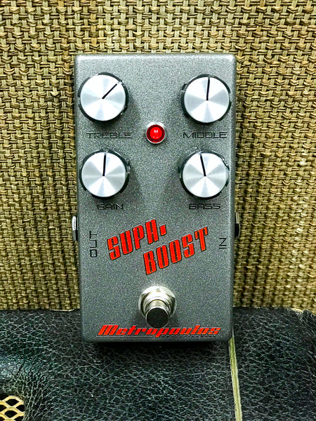 Supa-Boost - High Voltage Boost Pedal - ON SALE!