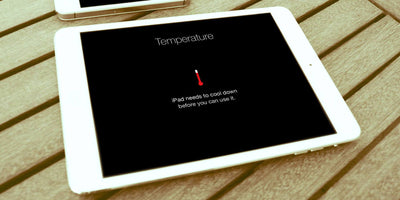 What to do when you see the iPad Temperature Warning
