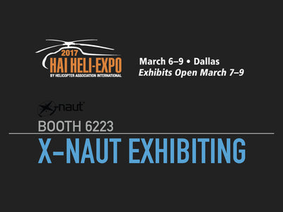 X-naut exhibiting at the HAI HELI-EXPO 2017.
