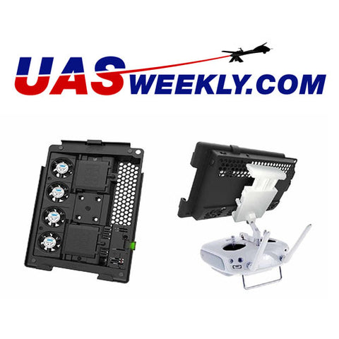 UAS Weekly X-Naut Active Cooling Mount for iPAD review
