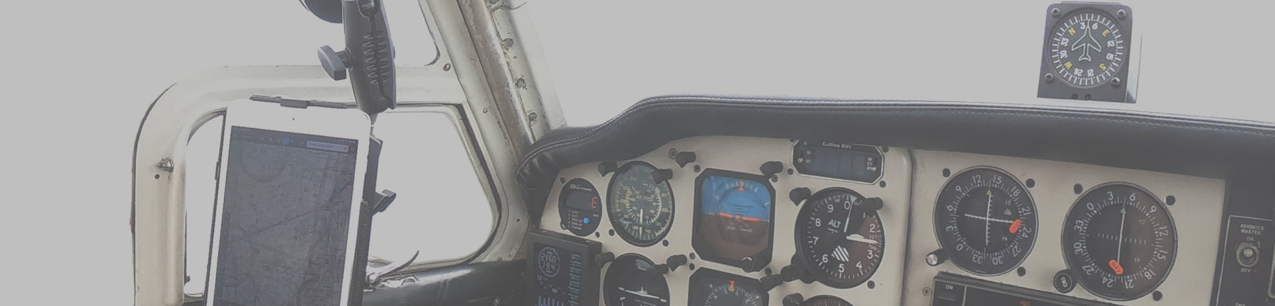 Secure your iPad in the Cockpit