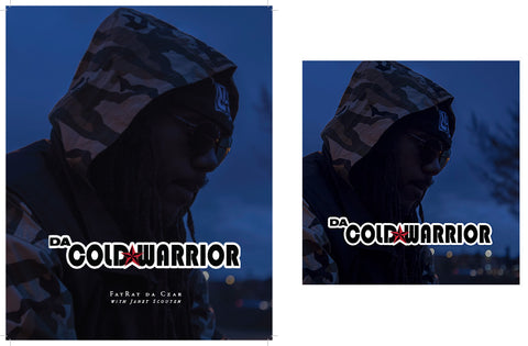 "Da Cold Warrior Collection: Limited Edition Signed ""Da Cold Warrior"" Book and Double CD Set"