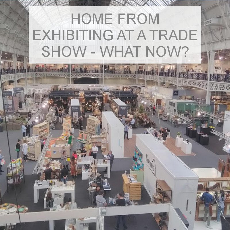 What to do after exhibiting at a Trade Show
