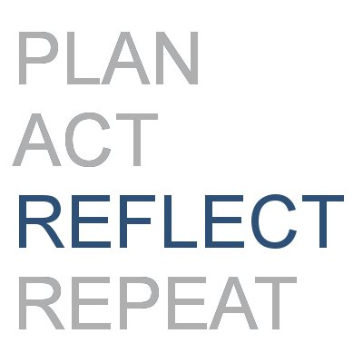 Plan, Act, Reflect, Repeat - Part 3 Reflection is key