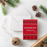 Little Drummer Boy witty Christmas Card