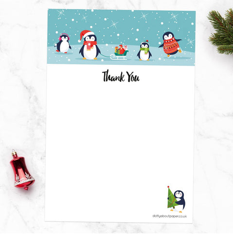Dotty About Paper - Christmas Cards and Thank You Notelets