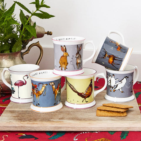 Katie Cardew Illustrations beautifully fun mug set